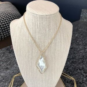Kendra Scott Lilith Necklace In Ivory - New